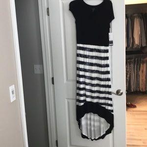 Kenzie, size small high-low maxi dress. NWT